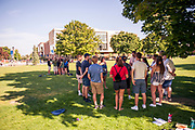 Orientation weekend. (GU photo by Gavin Doremus)