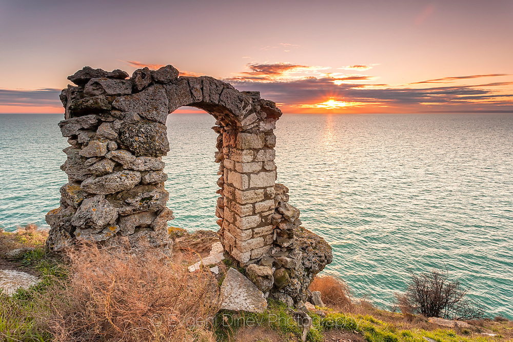 Ancient fortress by the sea