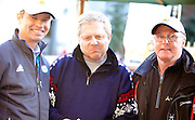 Friday, Feb 19, 2010; Celebrating at the Lake Placid Friendship House after USA's Andrew Weibrecht won the Bronze medal in the Olympic Super G are(from left) ORDA CEO Ted Blazer, Andrew's father Ed Weibrecht, and Andrew's former coach Horst Webber (Photo/Todd Bissonette).