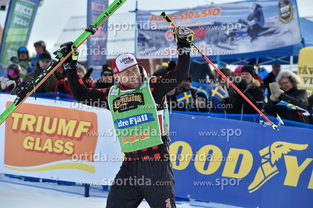 12.02.2017, Idre Fj&auml;ll, SWE, FIS Weltcup Ski Cross, Idre Fj&auml;ll, im Bild Brady Leman // during the FIS Ski Cross World Cup in Idre Fj&auml;ll, Sweden on 2017/02/12. EXPA Pictures &copy; 2017, PhotoCredit: EXPA/ Nisse Schmidt<br /> <br /> *****ATTENTION - OUT of SWE*****