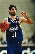 Campionati del Mondo Atene 1998<br /> andrea meneghin