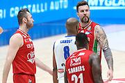 Miroslav Raduljica, EA7 Emporio Armani Milano vs Germani Basket Brescia LBA serie A 4^ giornata di ritorno stagione 2016/2017 Mediolanum Forum Assago, Milano 12/02/2017