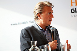 UK ENGLAND LONDON 22JUN16 - YouGov pollster Stephen Shakespeare during a podium discussion hosted by Handelsblatt at the Beagle Bar & Restaurant, Hoxton, London.<br /> <br /> jre/Photo by Jiri Rezac<br /> <br /> © Jiri Rezac 2016