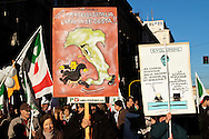 Roma  11 Dicembre 2010.Manifestazione Nazionale del Partito Democratico  contro il Govermo Berlusconi..Demonstration  by the Italian main opposition Democratic Party (PD) against Italian prime minister Silvio Berlusconi's government.