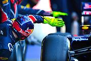 Mark Webber (AUS) drives the Red Bull Racing RB8  Formula One Testing, Circuit de Catalunya, Barcelona, Spain, World Copyright: Jamey Price