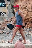 Cristiano Ronaldon friends hit flyboard in Ibiza