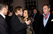 David Furnish, Sir Elton John, Bianca Jagger and tommy Hilfiger. Mario Testino, Bianca Jagger and Kenneth Cole celebrate Women to Women: Positively Speaking. - A publication to raise awareness of women living with Aids. The Orangery, Kensington Palace. 2 December 2004. ONE TIME USE ONLY - DO NOT ARCHIVE  © Copyright Photograph by Dafydd Jones 66 Stockwell Park Rd. London SW9 0DA Tel 020 7733 0108 www.dafjones.com