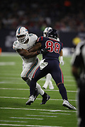 Miami Dolphins defensive end Cameron Wake (91) in action during the NFL week 8 regular season football game against the Houston Texans on Thursday, Oct. 25, 2018 in Houston. The Texans won the game 42-23. (©Paul Anthony Spinelli)