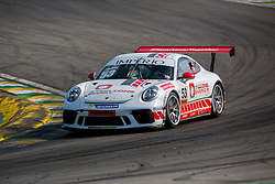 July 27, 2018 - Sao Paulo, Sao Paulo, Brazil - Car #53 in action during the free practice session for the 5th stage of the 2018 Brazilian Porsche GT3 Cup championship, which takes place on Saturday, 28 at Interlagos circuit in Sao Paulo, Brazil. (Credit Image: © Paulo Lopes via ZUMA Wire)