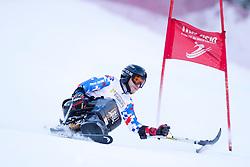BAMBOUSEK Pavel, 2015 IPCAS Super G, Sella Nevea, Tarvisio, Italy