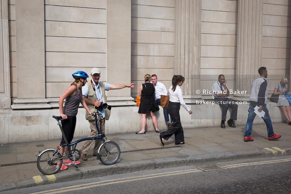 Photographer John Sturrock on 13th September 2016, in the City of London, England.