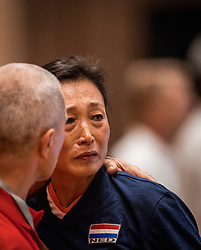 16-07-2018 NED: World Championship sitting volleyball women, Arnhem<br /> Netherlands - Rwanda 3-0 / Hong Zhao #12 of Netherlands