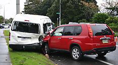 Auckland-Children injured in Mangere crash