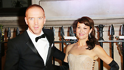 © Licensed to London News Pictures. 08/10/2013, UK. Damian Lewis; Helen McCrory, BFI Gala charity dinner, 8 Northumberland Avenue, London UK, 08 October 2013. Photo credit : Richard Goldschmidt/Piqtured/LNP
