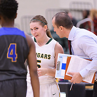 Assistant coach during the Women's Basketball Preseason game on October 6 at Centre for Kinesiology, Health and Sport. Credit: Arthur Ward/Arthur Images