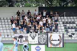 Fans of ND Mura during the football match between ND Mura and ND Gorica in 1st Round of Pokal Slovenije 2015/16, at Fazanerija on August 19, 2015 in Murska Sobota, Slovenia. Photo by Mario Horvat / Sportida