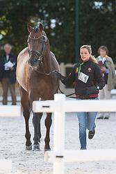 Julie De Deken, (BEL),  Lucky Dance - Horse Inspection Dressage - Alltech FEI World Equestrian Games™ 2014 - Normandy, France.<br /> © Hippo Foto Team - Leanjo de Koster<br /> 25/06/14