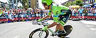 04-07-2015: Wielrennen: Grande Depart: Tour de France: Utrecht<br /> <br /> Jack BAUER<br /> <br /> <br /> De 1e etappe van de Tour de France van 2015 was een individuele tijdrit van 13,8 kilometer. De start en finish zijn bij de Jaarbeurs in Utrecht