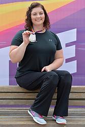 16/07/2017 : Orla Barry (IRL), F57, Women's Discus, Silver Medal Winner, at the 2017 World Para Athletics Championships, Olympic Stadium, London, United Kingdom