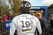 BELGIUM / BELGIQUE / BELGIE / CYCLOCROSS / VELDRIJDEN / CYCLO-CROSS / CYCLING / OVERIJSE / DRUIVENCROSS / GENTLEMEN RACE / START / MIKE KLUGE /