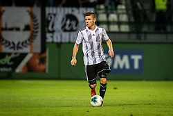 Luka Bobičanec of Mura during Football match between NS Mura (SLO) and Maccabi Haifa (IZR) in First qualifying round of UEFA Europa League 2019/20, on July 18, 2019, in Stadium Fazanerija, Murska Sobota, Slovenia. Photo by Blaž Weindorfer / Sportida