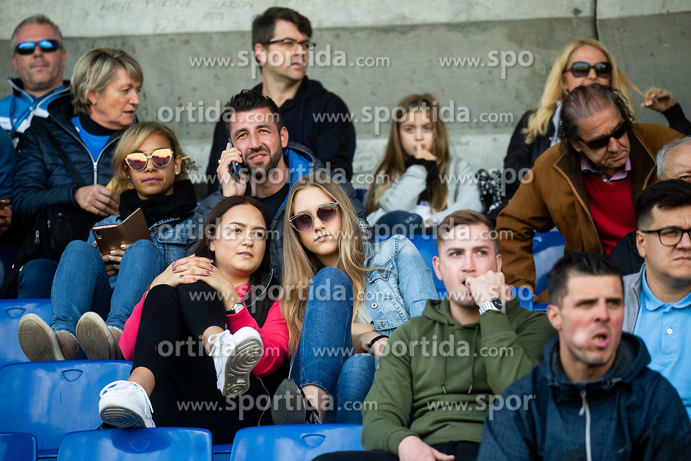 Supporters during football match between NK Bravo and NK Celje in 13th Round of Prva liga Telekom Slovenije 2019/20, on October 5, 2019 in ZAK stadium, Ljubljana, Slovenia. Photo by Vid Ponikvar / Sportida
