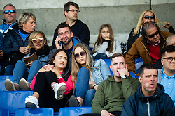 Supporters during football match between NK Bravo and NK Celje in 13th Round of Prva liga Telekom Slovenije 2019/20, on October 5, 2019 in ZAK stadium, Ljubljana, Slovenia. Photo by Vid Ponikvar / Sportida