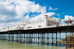 Brighton, UK. Brighton Palace Pier on a sunny day. Photo Credit: Hugo Michiels