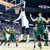 20 November 2016: Denver Nuggets center Jusuf Nurkic (23) goes for the dunk during the Denver Nuggets 105-91 victory over the Utah Jazz, at the Pepsi Center, Denver, Colorado, USA.