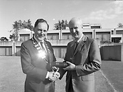 Conferring of fellowship on Mark Hely-Hutchinson, I.M.I.,<br />