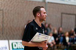 26-10-2019 NED: Dros Alterno - Set Up 65, Apeldoorn<br /> Round 4 of Eredivisie volleyball - Coach William Klaver of Alterno