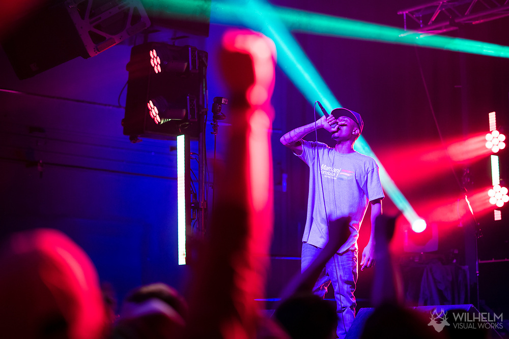 The Cool Kids perform at Red Bull Sound Select Presents Denver at the Summit Music Hall in Denver, CO, USA, on 17 February, 2017.