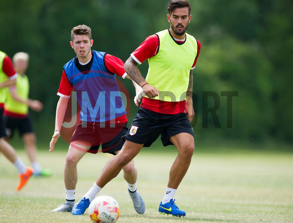 Bristol City's Marlon Pack  - Photo mandatory by-line: Joe Meredith/JMP - Mobile: 07966 386802 - 01/07/2015 - SPORT - Football - Bristol - Failand Training Ground - Bristol City Pre-Season Training
