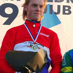 HUYBERGEN (NED) veldrijden<br />Lars Noom is de sterkste elite renner