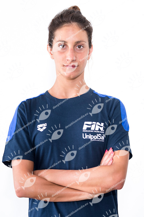 DEIDA Francesca<br /> Italy Synchronized swimming Team<br /> Olympic Team Rio 2016<br /> Photo Giorgio Scala/Deepbluemedia/Insidefoto