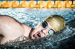 Darko Đurić, Slovenian paralympic swimmer during Media day of the National Paralympic Committee (NPC) of Slovenia, on April 26, 2016 in Olympic pool Radovljica, Slovenia. Photo by Vid Ponikvar / Sportida