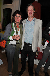 JANE RAINEY and HUGH ST.CLAIR at a private view of Nesta Fitzgerald's prints held at Selina Blow's store, Ellis Street, London on 27th September 2011.