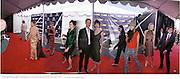 Cynthia Geary, Debbie Mazur, Chad Lowe, Hillary Swank, Jaine ( James) King, Chloe Sevigny, Harmony Korine. IndependentSpirit1d. Independent Spirit Awards 2000. Santa Monica Beach. 25/3/2000.<br /> &copy; Copyright Photograph by Dafydd Jones 66 Stockwell Park Rd. London SW9 0DA Tel 0171 733 0108 www.dafjones.com