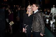 HANNAH TOINTON; JOE THOMAS, Absent Friends - press night  afterparty. Mint Leaf. Haymarket. London. Thursday 9 February 2012