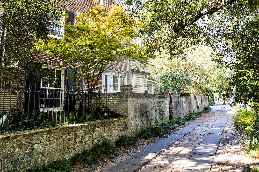 Stoll's Alley in historic Charleston, SC.