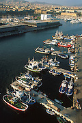 SPAIN, BARCELONA Barceloneta; port and Marmagnum