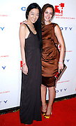 Vera Wang and Leighton Meester pose at the 5th Annual DKMS Gala at Cipriani Wall Street in New York City on April 28, 2011.