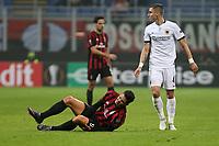 Milano - 19.10.2017 - Milan-AEK Atene - Europa League   - nella foto:  Andre Silva a terra