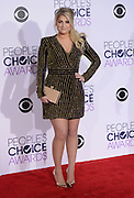 MEGHAN TRAINOR  at  the People's Choice Awards 2016 held at the ©Exclusivepix Media
