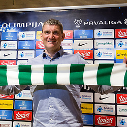 20170309: SLO, Football - Press conference of NK Olimpija Ljubljana