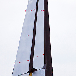 Day one, No wind: race cancelled<br /> 2010 America's Cup, Valencia<br /> <br /> ©2010 Kaufmann/Forster go4image.com