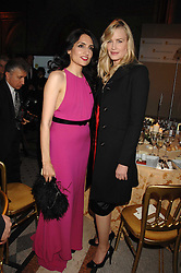 Left to right, RENU MEHTA and DARYL HANNAH at the 2nd Fortune Forum Summit and Gala Dinner held at the Royal Courts of Justice, The Strand, London on 30th November 2007.<br />