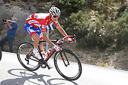 Rudy Molard (FRA - Groupama - FDJ) red jersey, during the UCI World Tour, Tour of Spain (Vuelta) 2018, Stage 9, Talavera de la Reina - La Covatilla 200,8 km in Spain, on September 3rd, 2018 - Photo Luis Angel Gomez / BettiniPhoto / ProSportsImages / DPPI