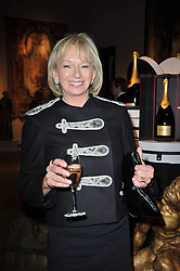 JUDY CRAYMER at the Krug Mindshare Charity Auction held at Christie's, 8 King Street, London SW1 on November 2009.