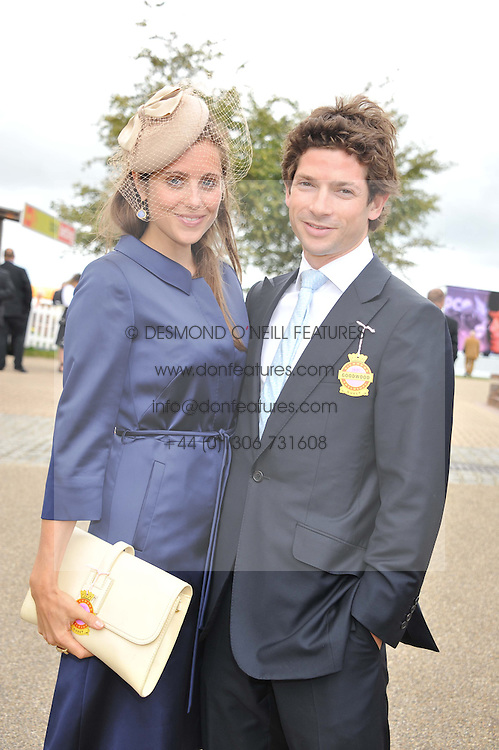 SAM & BELLA WALEY-COHEN at the 3rd day of the 2012 Glorious Goodwood racing festival at Goodwood Racecourse, West Sussex on 2nd August 2012.